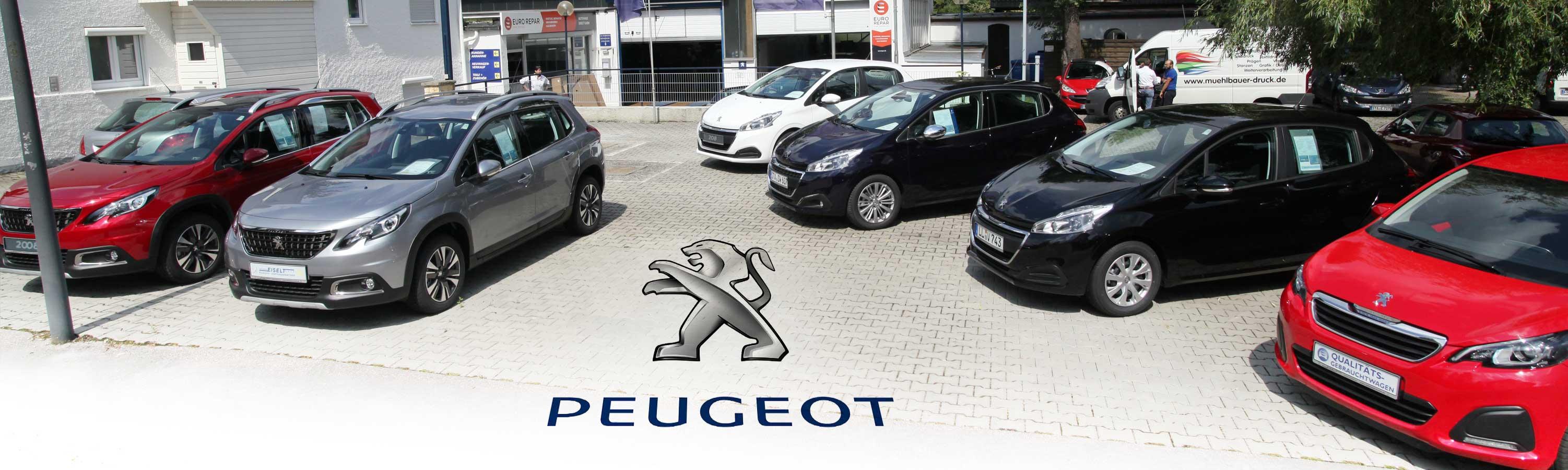 Kauf und Verkauf von Peugeot Neuwagen und Gebruachtwagen vom Fachhändler