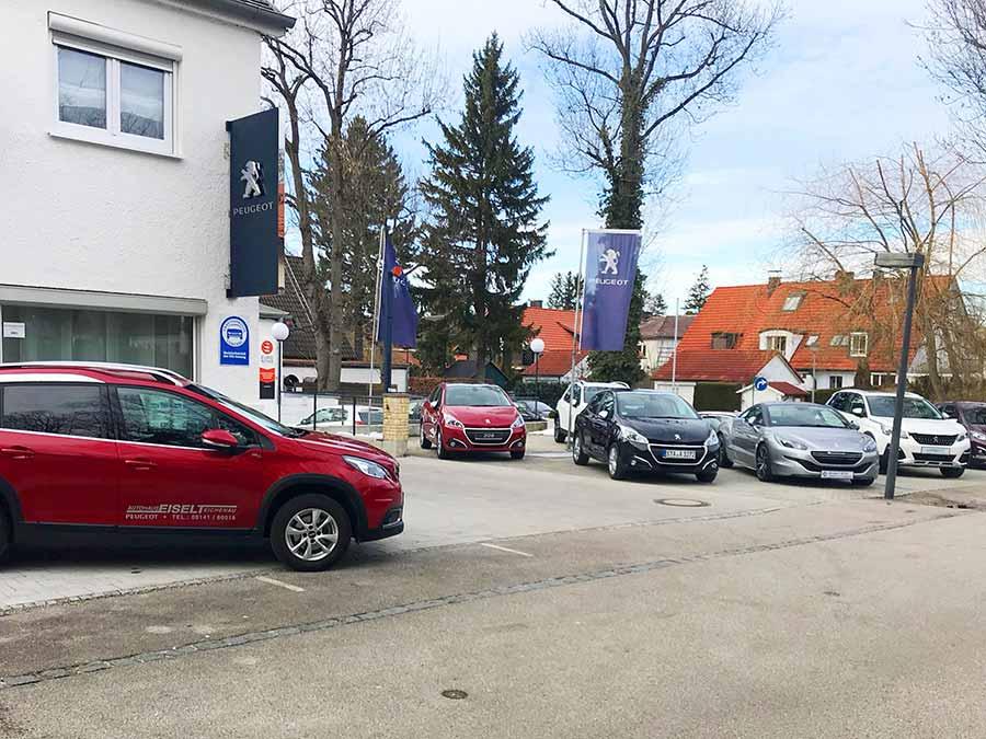 gebrauchte Peugeot Fahrzeuge kaufen oder finanzieren beim Autohaus Eiselt FFB